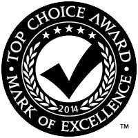 2014 Top Choice Award Winner - Best Catering Service, Vancouver