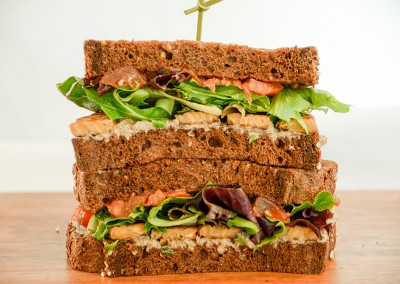Marinated Tempeh Sandwich - Corporate Cold Lunch Menu
