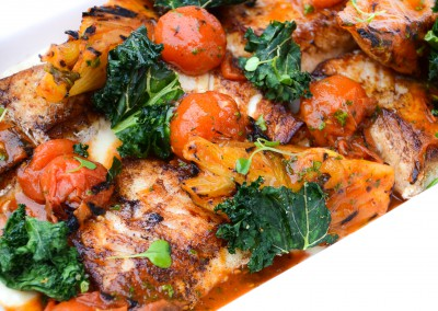 Pan Roasted Ling Cod - Buffet/Family Style Menus