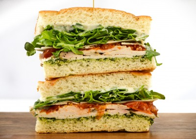 Lemon and Herb Roasted Chicken Sandwich - Corporate Cold Lunch Menu