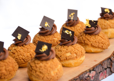Espresso Cream Puffs - Desserts Menu