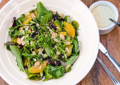 Lavender Orange and Almond Salad - Corporate Cold Lunch Menu