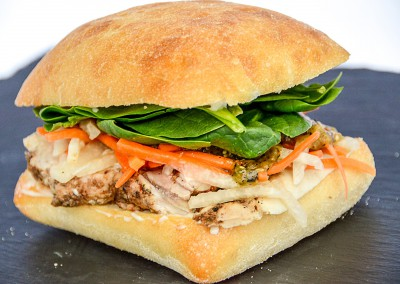 Jerk Chicken Sandwich - Corporate Cold Lunch Menu