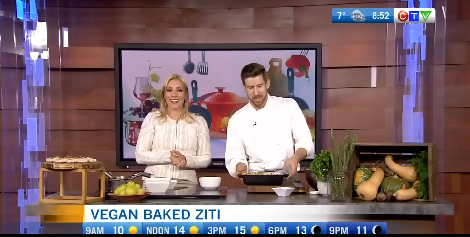 Vegan Baked Ziti – As Seen on CTV Morning Live Vancouver!